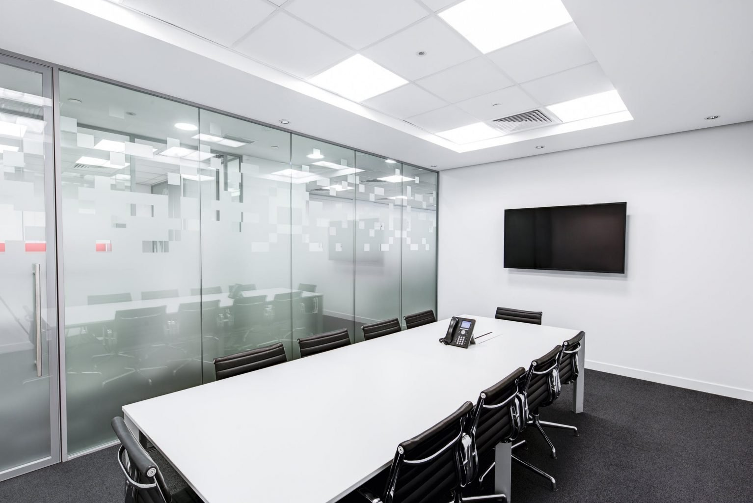 Seven Reasons to Consider Commercial Decorative Glass Film for Your Space - Decorative Window Film Iowa City and Cedar Rapids, Iowa